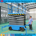Mobile hydraulic Scissor type window cleaning lift