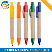Customized Design Paper ECO Friendly Ball Pen For Promotion