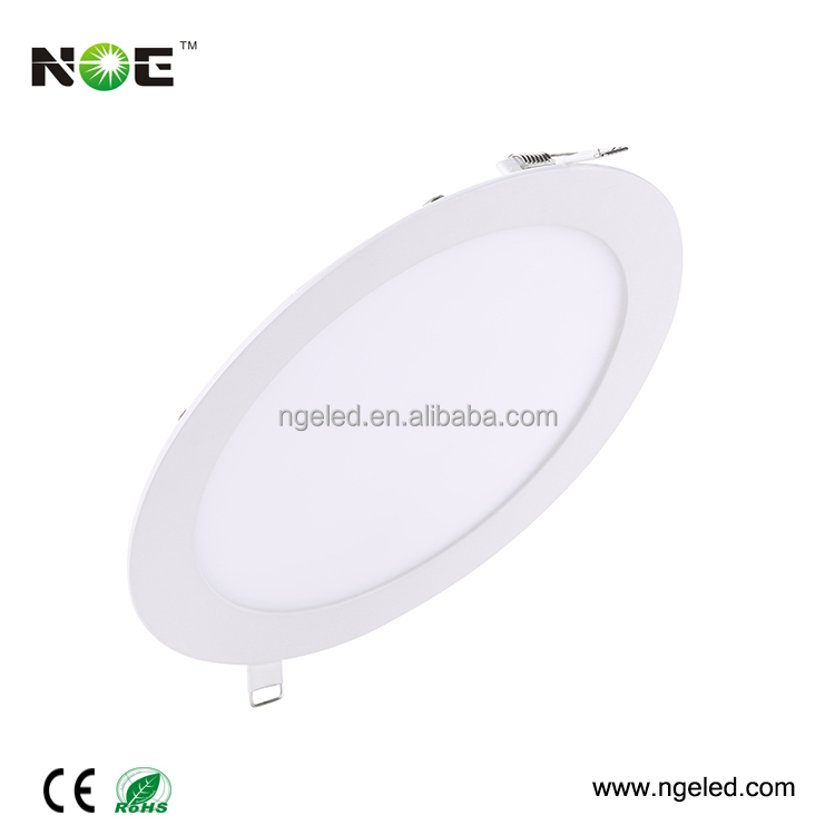 3 years warranty flat small round led panel light 18w round led paneling lamp