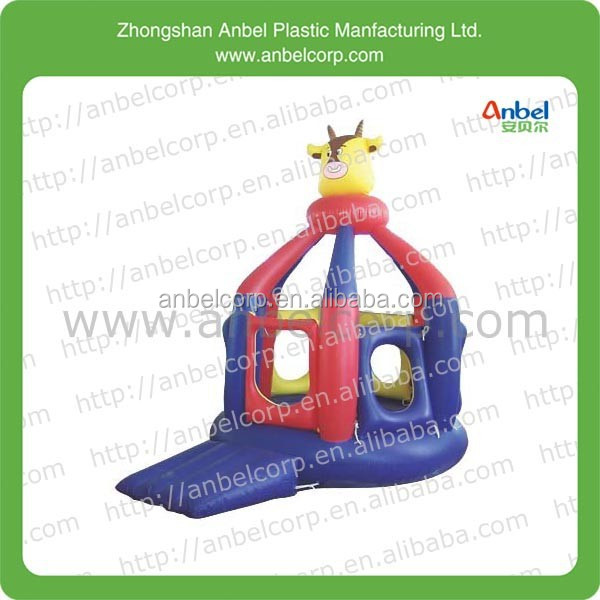 outdoor new design inflatable bounce castle with slide
