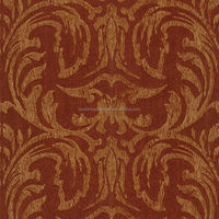 wall papers home decor with pvc material embossed 3d pattern