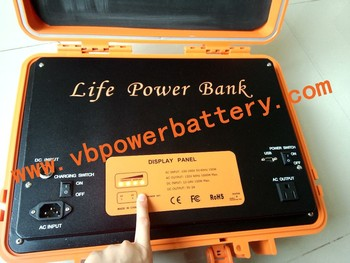 LiFe Big Power Bank 24V 40Ah LiFePO4 high power Battery DC Power Source