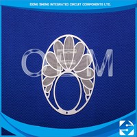 High quality oem aluminum plate photo chemical etching marketing promotion gift product