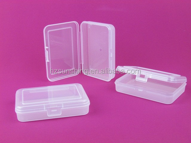 hard plastic Small parts storage box