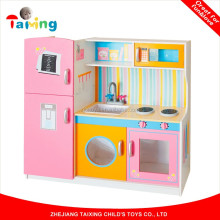 Hot Sale Mini Play Cooking Kids Wooden Toy Kitchen Set Kitchen Toy