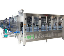 bottle filling machinery production line 3 IN 1 product line filling example