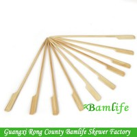 Super quality hot-sale bamboo paddle sticks for fruit