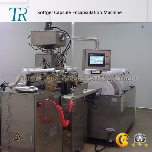 Pharmaceutical Soft Capsule Encapsulation Machine Suitable For Marine Gelatin And Vegetable Gelatin