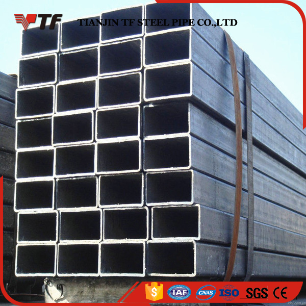 Chinese suppliers New product black iron rectangular oval mild square steel pipe