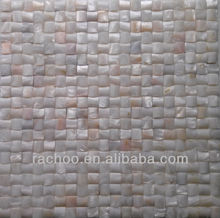 Rachoo pure white river shell mosaic