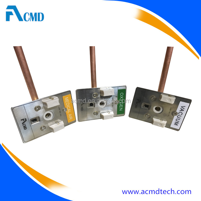 ACMD Console Outlets Chemetron Medical Gas Outlets For Suction Unit