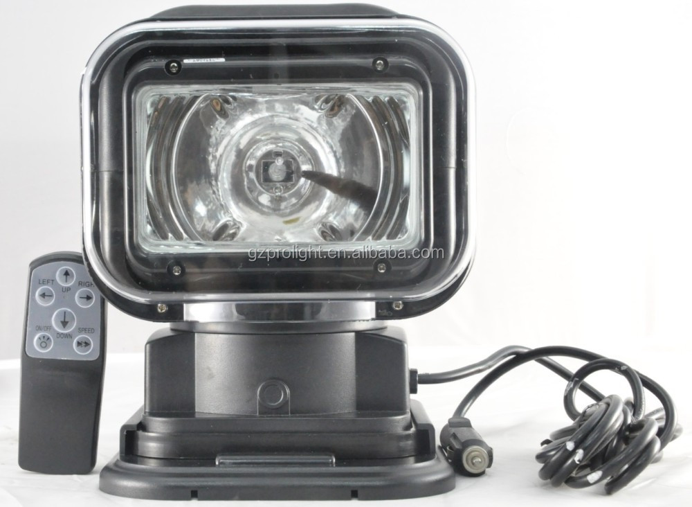 Best boat 50W HID Remote Control Search Light From 25 Years Manufacturer In China_XT2009C