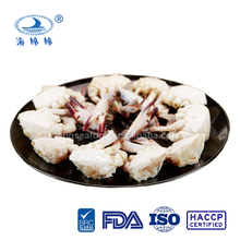Best price half shell frozen blue swimming crabs for all market