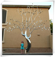 Outdoor And Indoor Garden Metal Art Tree Sculpture