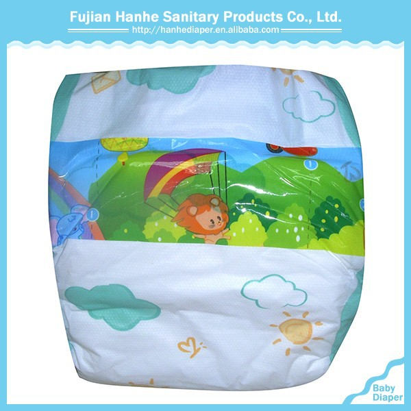 OEM Soft Disposable Sleepy Baby Diaper For Baby