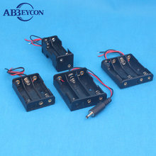 AA battery holder case 5v 2*18650 batteries holder V6-2 batery holders 3.7V