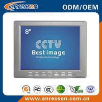 BNC/VGA/HDMI ports, DC 12V/4A portable cctv tester monitor 8