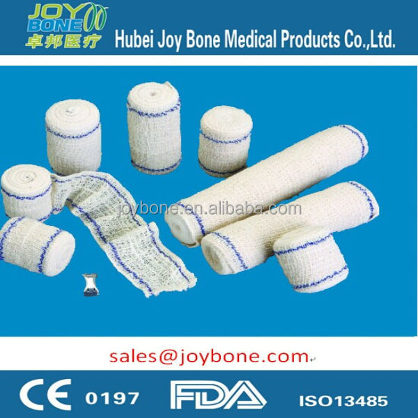 CE & ISO13485 approved Medical Elastic Bandage, crepe bandage, stretch bandage
