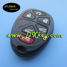 Hot sale online keyless remote shell 5+1 buttons for gm remote shell gm key fob