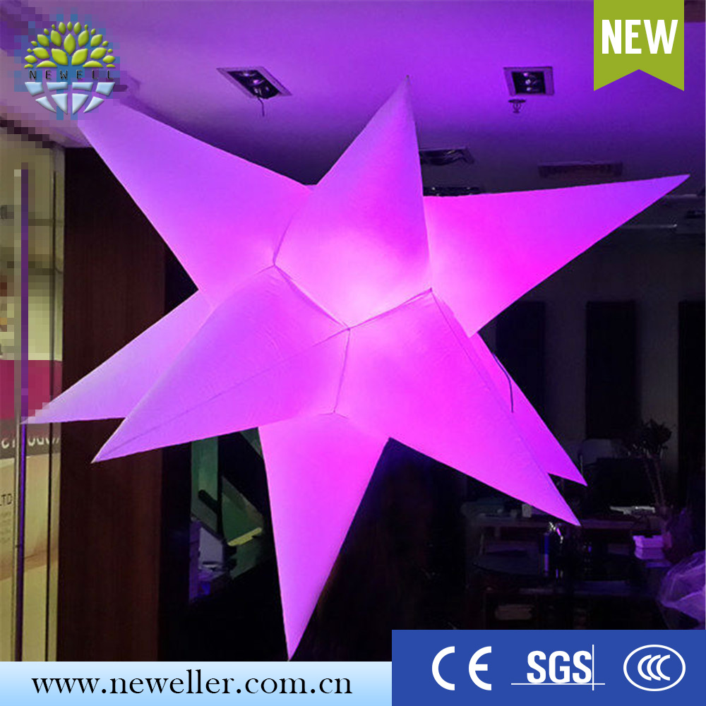 New advertising product singing promotion inflatable star with low price