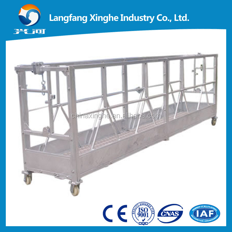 Suspended scaffolding / building painting machine / glass cleaning equipment