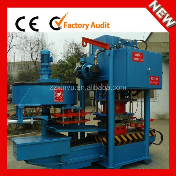 XINYU good quality high pressure ceramic floor tile making machine