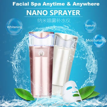 Deep Cleansing Handy Nano Facial Cool Mist Sprayer