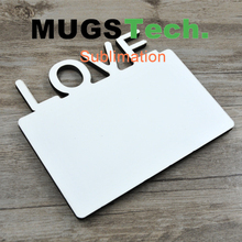 Sublimation Hardboard Photo Panel with Across LOVE