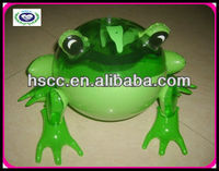 EVA inflatable animal toys,frog design toys