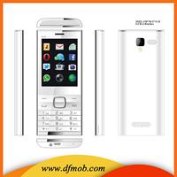 2.8 Inch GSM Unlocked Quad Band Dual SIM Senior Keypad Zinc Alloy Cell Phone A525
