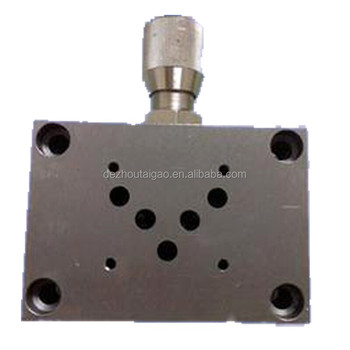 high quality hydraulic power unit valve block with cheap factory price