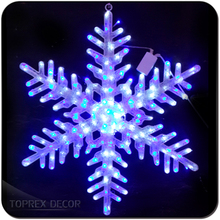 Outdoor Wall Led Snowflake Lights Decoration For Wedding