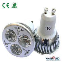6W spotlight GU10, mr16 LED spotlight, dmx controled LED spotlight
