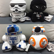 New arrival China Manufacturer stuffed soft stars wars BB-8 kids toy plush cartoon dolls toy