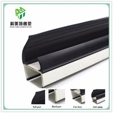 Long life PVC shipping container rubber strip door bottom seal