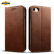 Phone Accessories Mobile Case Slim Design Skin Cover Leather Case for iphone 7 With Reach Approved