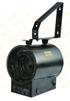 3KW Industrial electric wall mounted remote fan heater
