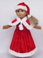 best selling beautiful 18 inch Santa Claus american girl doll clothes
