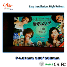 RGX Indoor p4.81 LED Display Module Indoor Rental LED Wall Video LED Advertising Portable Screen