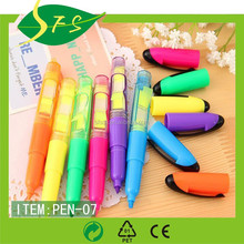 Funny Big Fluorescent Marker Pen With Sticky Notes