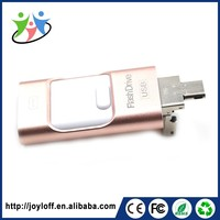 Multifunction Oem Dual Double Plug Interface Otg Smart Phone Usb Disk Mini Key Usb Flash Drive