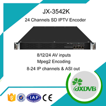 Satellite Cable TV SD Mpeg2 ASI Video Encoder
