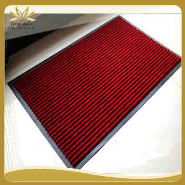 PVC backed ribbed door mat