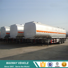 Customized used stainless steel tanker trailers