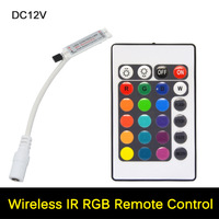 RGB Controller Dynamic Modes and Color DC 12V 44Keys Dimmer Switch for 5050 3528 Led Strip lamps Light