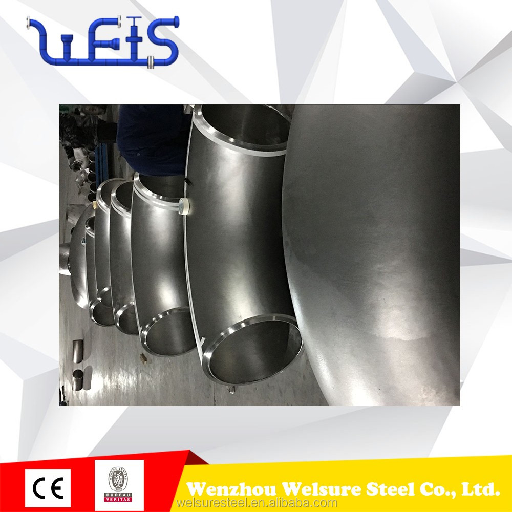 "SMLS 24"" SCH100 90 Degree LR Butt Weld Elbow 304/304L SS fitting pipe fittings elbow"
