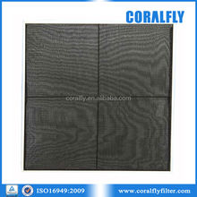 Coralfly hot selling good quality nylon mesh air filter