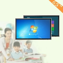 55 65 70 84 inch LED LCD all in one touch screen monitor panel with good prices