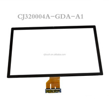 "CJ32004A-GDA-A1 Max up to 10 touch points 32"" capacitive touch screen panel with G+G"