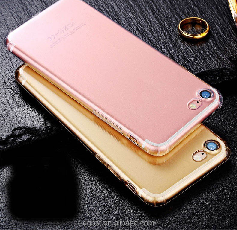 100pcs/lot ultra slim for iphone 7 case clear phone TPU case for iphone 7